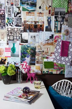 love a good wall collage