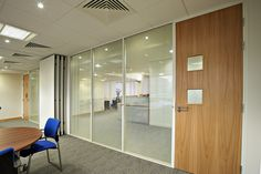 OGP's Sektor 50 Excel glass and solid wall partitions are probably the most versatile office system on the UK market.