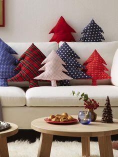 4 einfache Nähideen mit weihnachtlichen Stoffen