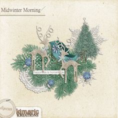 kimeric kreations: Sale ending, and a gorgeous Midwinter Morning cluster to share