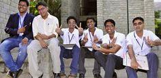 Winners of Next Big Idea. (From left) Manoj Sanker, Mrinal Parekh, Mukul Mohan, M. V. Jairaj, Naresh Khanduri and Ritwik Batabyal