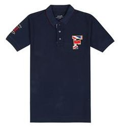 FCUK Union Jack F Short Sleeve Polo