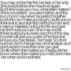 don't break her heart