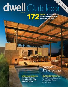 A recent cover and some selected tears from Brent Humphrey's latest work for Dwell Magazine. Brent's photos cover a modern, open-air pool house in the Texas Hill Country conceived by Lake/Flato Arc...
