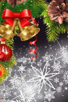 Old Time Christmas, Christmas Scenes, Vintage Christmas Cards, Christmas Colors, Family Christmas, Winter Christmas, Christmas Wreaths, Merry Christmas, Christmas Decorations