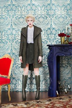 Alice + Olivia Fall 2013 Ready-to-Wear Collection Slideshow on Style.com