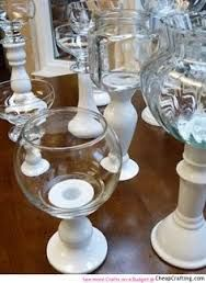 diy wedding decor made from dollar store items - Google Search