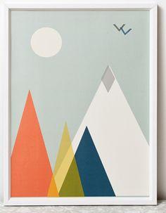print & pattern: WALL ART - clare nicolson