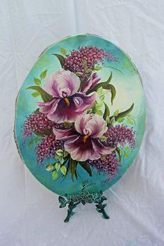 Painting Floral Oil by ATreasuredKeepsake on Etsy, $145.00