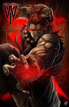 Akuma (Gouki) - Street Fighter - 11 x 17 imprimé numérique Street Fighter Wallpaper, Akuma Street Fighter, Street Fighter Characters, Super Street Fighter, World Of Warriors, King Of Fighters, The Villain, Animes Wallpapers, Horror Films