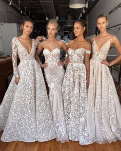 Wedding Fashion bridal gowns flowy fabric delicate lace and fairytale ball gowns wedding dress sleeves Lace Beach Wedding Dress, Top Wedding Dresses, Wedding Dress Trends, Wedding Dress Sleeves, Long Sleeve Wedding, Bridal Dresses, Wedding Gowns, Prom Dresses, Wedding Bride