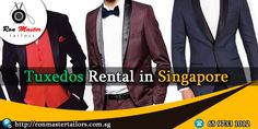 Get the comfortable #TuxedosRentalInSingapore by Ron Master Tailors at extremely low prices. You can choose your style such as the vent, sleeve buttons, hem stitch and the lapel. | https://bit.ly/2yu41rb