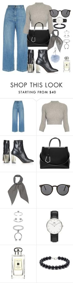 """""""I knew you were trouble"""" by marissa-91 ❤ liked on Polyvore featuring Rachel Comey, Alexander McQueen, Topshop, Fendi, Yves Saint Laurent, Spitfire, Maria Francesca Pepe, Daniel Wellington, Jo Malone and Tiffany & Co."""