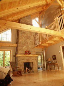 Beautiful timber-frame construction for your Lake of Bays cottage.
