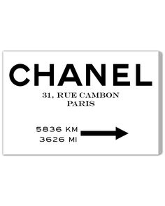 Spotted this Couture Road Sign Minimalist by The Oliver Gal Artist Co. on Rue La La. Shop (quickly!).