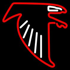 Atlanta Falcons Logo NFL Neon Sign 16x16