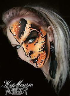 Monster Face Paint Art