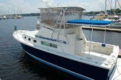 1999 Albin 32 plus 2 Command Bridge Power Boat For Sale -