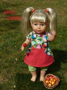 Puppenkleidung 43cm Kleid Baby Born kompatibel Kleidung Klamotten Kleider Mädels Kleidung & Accessoires Puppen & Zubehör