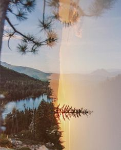 View from Heart Lake, Mount Shasta, 2017 Abstract Photography, Film Photography, Nature Photography, Urban Photography, Color Photography, White Photography, Film Inspiration, Double Exposure, Aesthetic Pictures