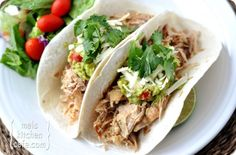 cuban street tacos (just pork butt in slow cooker but with some extra spices) Pork Recipes, Slow Cooker Recipes, Mexican Food Recipes, Crockpot Recipes, Cooking Recipes, Healthy Recipes, Ethnic Recipes, Tacos Crockpot, Dinner Recipes