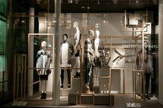 Bershka windows 2015 Fall, London – UK » Retail Design Blog