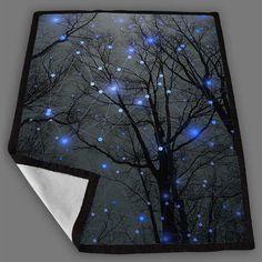 The Sight Of The Stars Makes Me Dream Geometric Stars Remix Blanket Fleece Design Bedding Quilt Throw Blankets