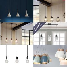 If you have an existing single light over your dining table, here are cost effective way of getting multiple lights from a single fitting: O Brien's lighting have this modern light fitting wi… Dining Table Lighting, Light Table, Modern Light Fittings, Modern Lighting, Ceiling Lights, Home Decor, Decoration Home, Lightbox, Room Decor