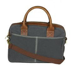 Frankfurt Field Brief (Charcoal)   A Briefcase is an integral component to the stylish man's working wardrobe. First impressions go a long way and a briefcase can certainly demonstrate you deserve that seat at the boardroom table. Masculine, useful and professional—a briefcase provides the functionality of an everyday bag.   #blueclawco #blueclaw #mensbag #bagsformen #bags #briefcase