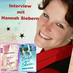 Erfrischend und inspirierend - Interview mit der Indie-Autorin Hannah Siebern, Autorin, Blog, Buchblog, Interview, Hannah, Siebern, Barfuß, im Regen, in Scherben, Wolken, Buchblogger, deutschsprachig