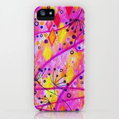 INTO THE FALL 2 Custom iPhone 4 4S or iPhone 5 5s 5c by EbiEmporium, $40.00 Modern stylish abstract watercolor painting design swirls diamonds flowers floral radiant orchid plum purple lilac lavender pink magenta sunshine lemon yellow, pretty in pink girlie girly sweet feminine pattern, trendy fashionable chic #iPhone #case #cell #phone #gift #cover #plastic #tech #techie #device #colorful #madetoorder #custom #art #abstract #iphone4 #iphone4s #iphone5 #iphone5s #iphone5c