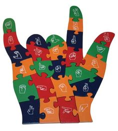 ASL has been a big help to my son who Has ASD......he's my puzzle piece!