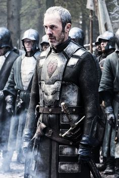 King Stannis Baratheon after the battle at the wall