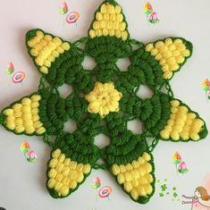 Flower Tattoos, Cactus Plants, Diy And Crafts, Crochet, Mandala, Flowers, Check, Chrochet, Tricot