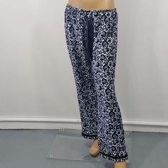 Colorado Clothing Lounge Fleece PJ Pajama Pants Cheetah Print Gray Brown Sz  M  00ba1df7c