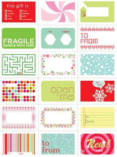 Mindy Mae's Market: Labels for YOU!