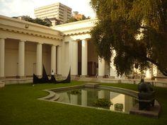 Courtyard. Former National Art Gallery (GAN) Caracas, Venezuela. Photo: Kari Arteaga