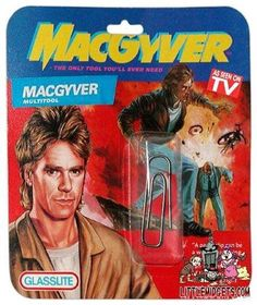 The MacGyver multitool. It's not your normal multitool. - yay for MacGyver Macgyver Tv, Angus Macgyver, Humour Geek, Bulletins, See On Tv, Paper Clip, Akira, Laugh Out Loud, The Funny