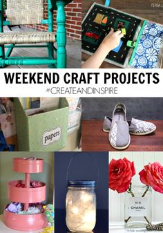 Create & Inspire Party | Weekend Craft Projects - A Night Owl Blog
