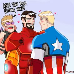 It's my feeling!!, I watched Avengers Assemble today.