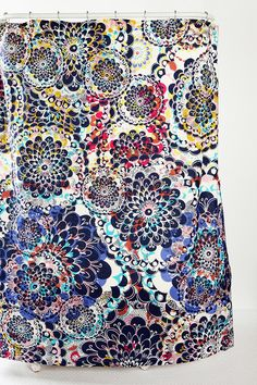 UrbanOutfitters.com > Kaleidoscope Shower Curtain
