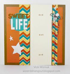 layout by Vicki Wizniuk using CTMH Dotty For You paper