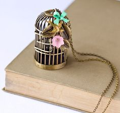 Birdcage Necklace!