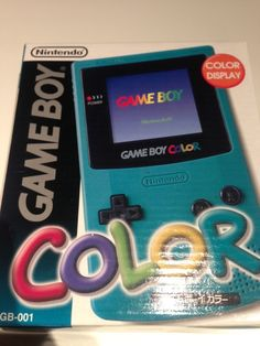 Console GameBoy Color Bleu turquoise- Turquoise blue