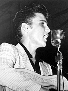 July 31, 1955 Tampa show where the front cover shot of Elvis' first album was taken.