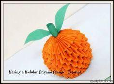 Modular Origami Orange