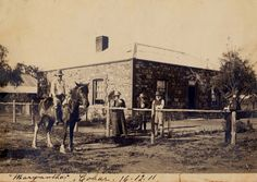 'Maryantha' Andrew Anna & Tom Mathews, Cobar 16 December 1911.