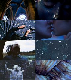 ravenclaw aesthetic — for from your secret admirer x Ravenclaw, Secret Admirer, Hogwarts Houses, Fantasy Warrior, Photomontage, Colour Schemes, Harry Potter, Artsy, Common Room