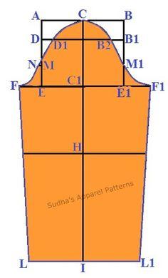 Sudha's Apparel Patterns Women's Basic Sleeve Pattern