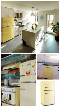 Buttercup Yellow - what a Chill Color! Big Chill's retro-styled and professional-grade kitchen appliances give you modern performance with timeless design. Create your dream vintage kitchen today! #RetroKitchen #RetroCool